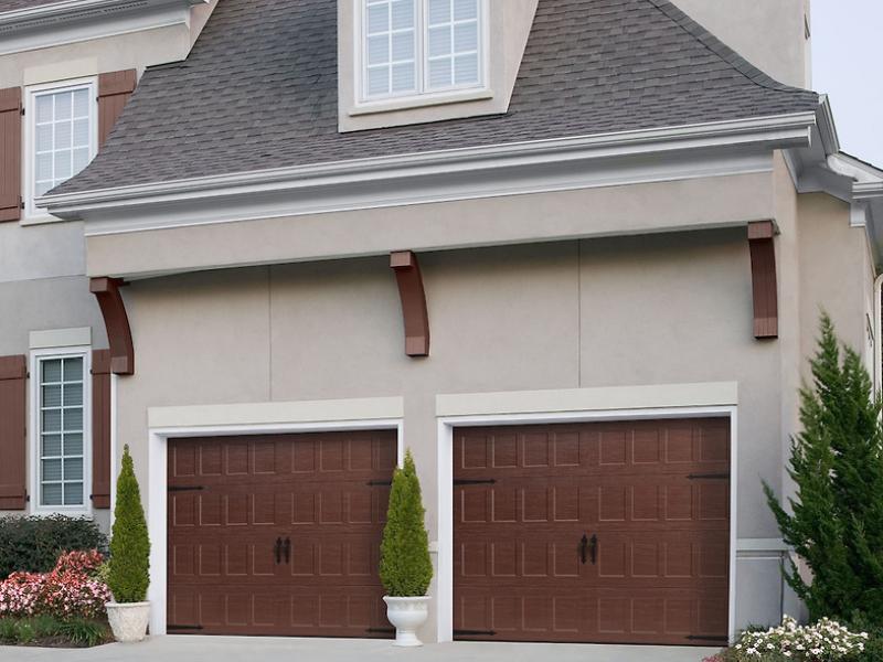 Amarr Oak Summit Garage Doors garage doors - c&w garage doors